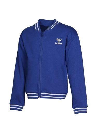 Hummel Hummel 9207784248 Sofia Fermuarlı Kız Çocuk Sweatshirt Mavi
